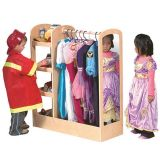 See and Store Dress-up Centre - Natural (36W x 14D x 42H)