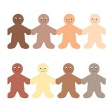 Rainbow People Trimmer - Skin Tone Colours