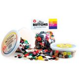 Assorted Buttons - 4oz Bag