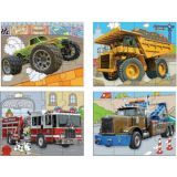 Green Start Jigsaw Puzzle Box Sets- Trucks