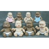 Multicultural Babies 10 - Black Doll