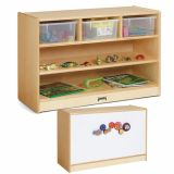 STEM Combo Mobile Storage Unit – with Clear Tubs