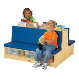 Read-a-Round Couch - Blue