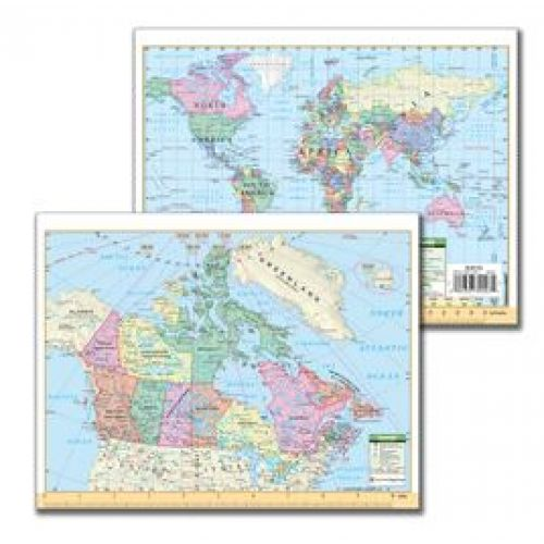 Canada world map notebook size kap10717 canada world map notebook size gumiabroncs