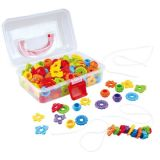 Lacing Beads assorted 150Pc