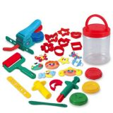 Playgo - Dough Craft Tool Bucket