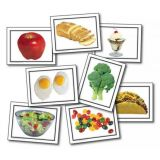 Nouns Food Learning Cards