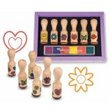 Happy Handle Wooden Stamp Set