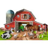 Floor Puzzle - Busy Barn 32 pcs
