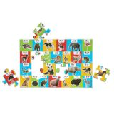 Animal Alphabet Floor Puzzle 24PC