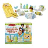 Mine to Love : Changing and Bathtime Play Set  19Pcs
