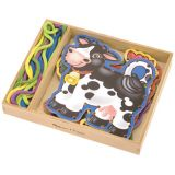 Wooden Lacing Panel Set - Farm