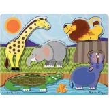 Touch and Feel Puzzle - Zoo Animals