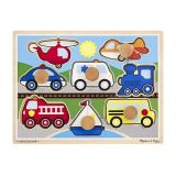 Vehicles Jumbo Knob Puzzle (8pcs)
