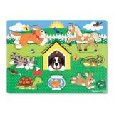 Mix & Match Peg Puzzles - Neighbourhood Pets