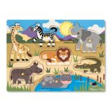 Peg Puzzles - Safari