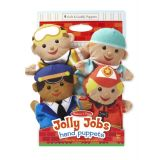 Jolly Jobs Hand Puppets (Set of 4)