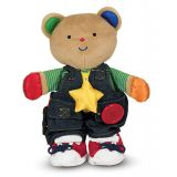 Teddy Wear (Learn to Zip, Button, and Tie)