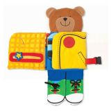 Dress-Up Bear (Fold-Out Cloth Book)