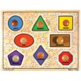 Jumbo Knob Puzzles - Large Shapes