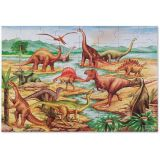 Floor Puzzle - Dinosaurs 48 pieces,  36 x 24