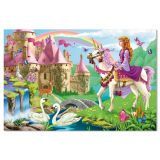 Floor Puzzle - Fairy Tale Castle 48 pieces