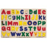 Jumbo-Sized Wood Puzzles - Upper & Lower case Alphabet