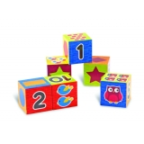 Numbers & Shapes Puzzle Blocks