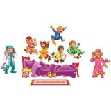 Flannelboard Set - Five Monkey Jumping on the Bed