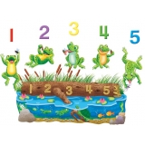 Five Speckled Frogs Precut