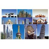 Architectural Structures Posters - Set of 10