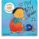 Sign and Sing Board Book Series - Itsy Bitsy Spider