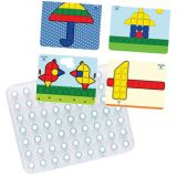 Complete Giant Mosaic Pegboard Set