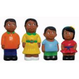 """5"""" Multicultural Family Figures - Hispanic"""