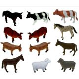 Animal Playsets - Farm Animals 6 (12 Pcs)