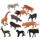 Animal Playsets - Wild Animals 6 (11 Pcs)
