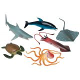 Animal Playsets - Ocean Animals 7 (6 Pcs)