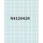 """Junior Exercise Books - 7""""x9"""" (Ruling over 7"""" side, 40 pages, 25/pk)"""