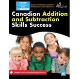 Canadian Addition and Subtraction Skills Success 1-3