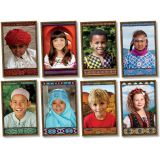 All Kinds of Kids: International Bulletin Board Set
