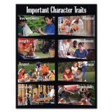 Character Education.  Important Character Traits Chart