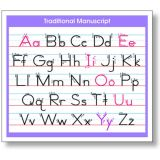 Adhesive Traditional Manuscript Desk Prompt 36/PK
