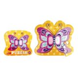 Shaped Puzzle 12Pcs - Butterfly