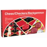 Chess-Checkers-Backgammon (Folding Set)