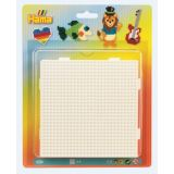 Hama Large Square Pegboard 4 Pieces