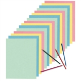 Newsprint Paper, 9″ x 12″, Assorted, 480 Sheets