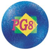 Coloured Playground Ball - Blue