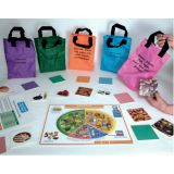 Healthy Eating Shopping Bags Game 46 Cards