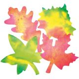 Colour Diffusing Paper - Leaves