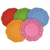 Doilies – Coloured